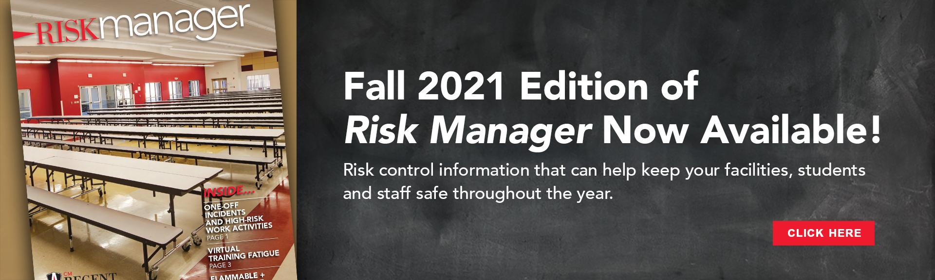 CM Regent Fall 2021 Risk Manager